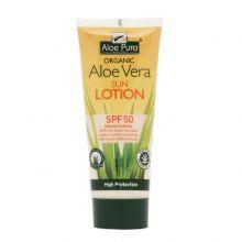 Aloe Pura, 有機蘆薈防曬乳液SPF50, 200ml