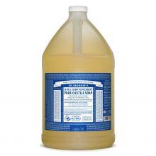 Dr. Bronner's, 薄荷潔顏液 - 1加侖